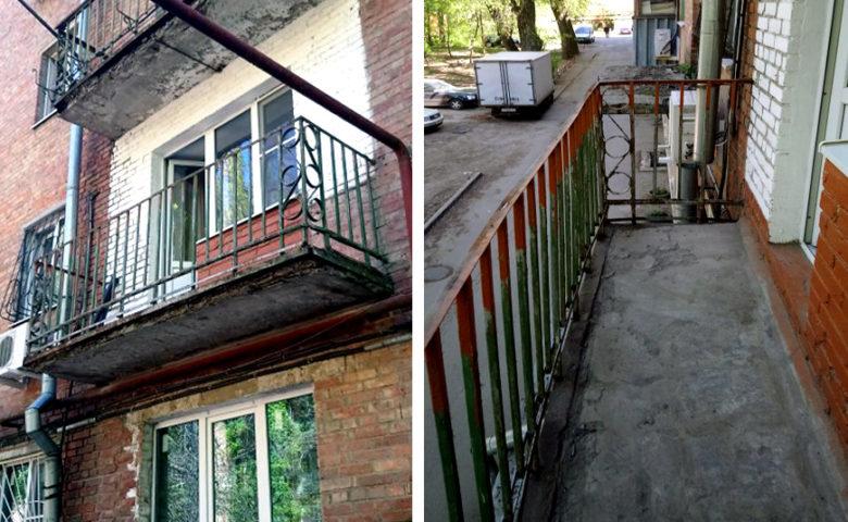 Остекление балкона в Ростове на Дону – цена, отзывы, фото объекта
