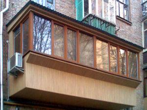 Лоджии и балконы с выносом под ключ в Ростове. ООО Алмаз
