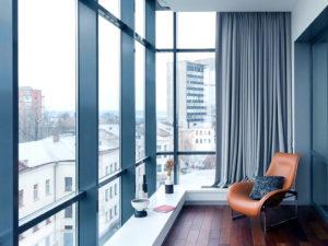 Особенности панорамного остекления балконов в Ростове