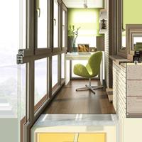 Панорамное остекление балкона – значительная экономия на отделке