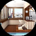 Объединение с комнатой – идеальное решение для маленькой квартиры