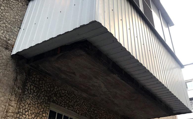 Отделка и утепление балкона под ключ