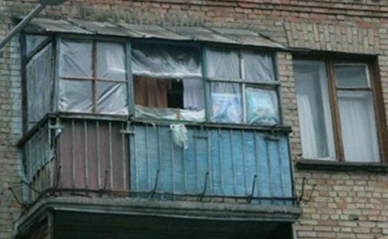 Остекление балкона зимой. Ларина 26, Ростов на Дону