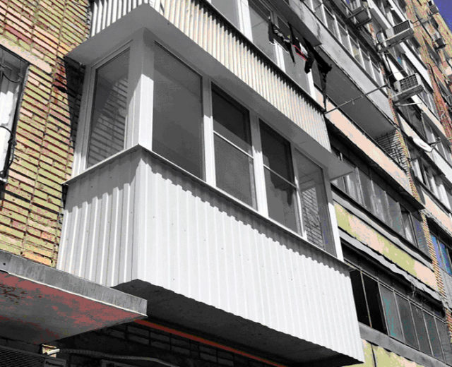 Ремонт балкона под ключ Ростов Нариманова 78 Подрядчик ООО Алмаз