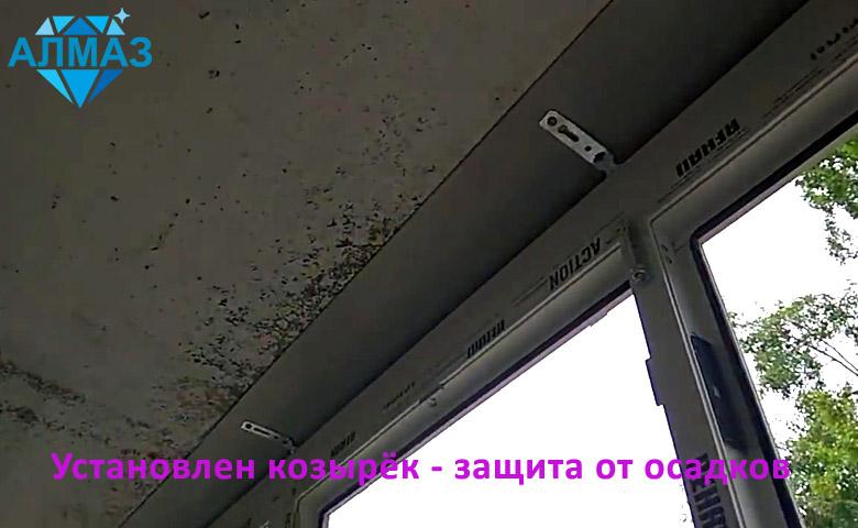 Остекление и внутренняя отделка вагонкой балкона, шкаф на заказ
