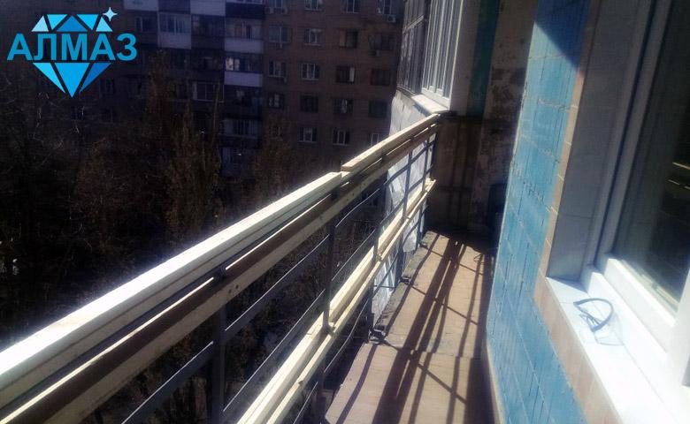 Утепление и отделка балкона, алюминиевые окна, Ростов на Дону